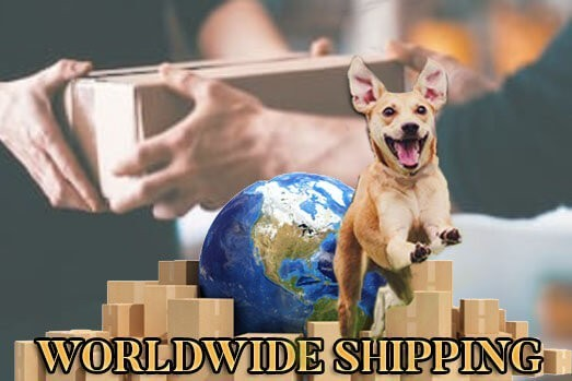 world wide dog gear shipping