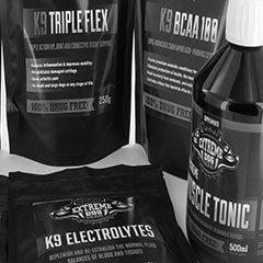 K9 supplements by extreme dog gear