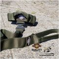 Green Camo k9 Tactical Collar & Leash set