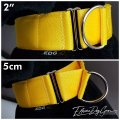 Martingale collar yellow