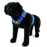 Dog harness 2 inch blue by extreme dog gear