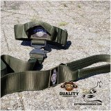 K9 collar and leash set green camo