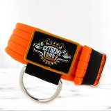 softshell neon orange dog collar