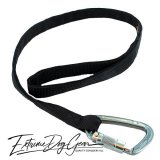 strong dog leash black