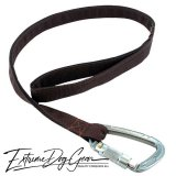 strong dog leash chocolate brown lead