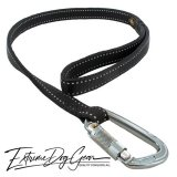 reflective dog leash black lead