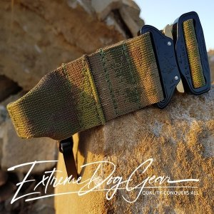 A TACS FG Tactical Dog Collar with handle