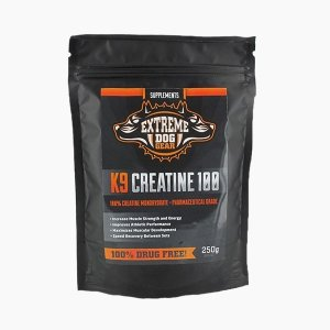 k9 creatine 100 by extreme dog gear