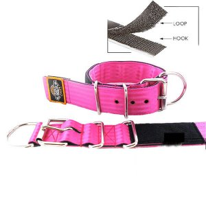 pink seat belt kennel keeper dog collar