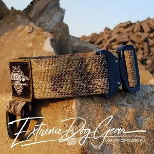 Kryptek Highlander Tactical K9 Dog Collar