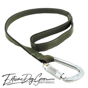 strong dog leash camo green lead