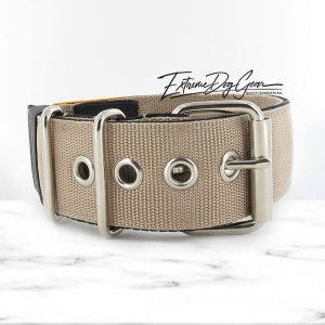 hazelnut color dog collar