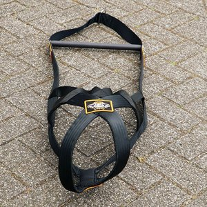 weight pulling harness for dogs black